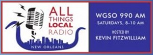 9 a.m. | Saturday | WGSO talks about Broad and Lafitte