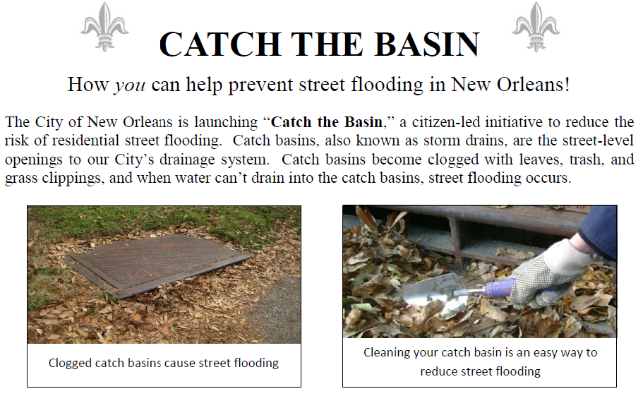 catch basin – Charlie's Neighborhood News