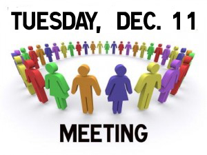 ELECTION and MEETING TUESDAY
