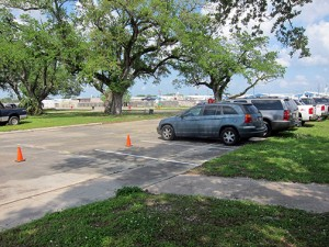 Safe, secure, hassle-free parking for Jazz Fest at 1700 Moss Street in New Orleans.