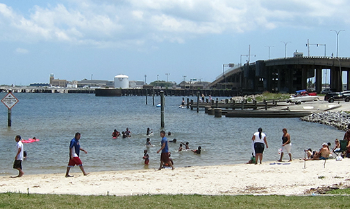 Lots of folks began the Summer of 2014 by swimming in Lake Ponchartrain.