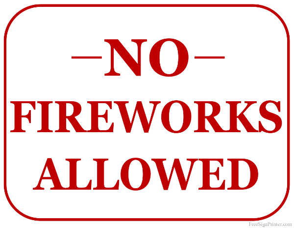 no-fireworks-allowed